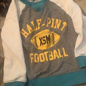 Carters 2t football sweatshirt